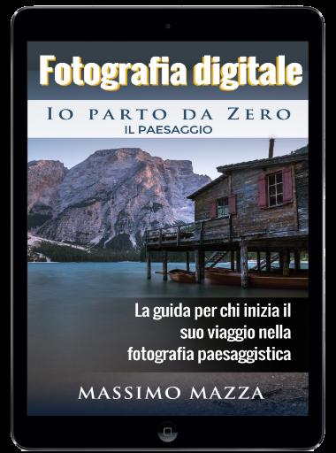 Libro ebook di fotografia di paesaggio su Amazon Kindle