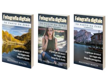 libri di fotografia per principianti Io Parto da Zero di Massimo Mazza