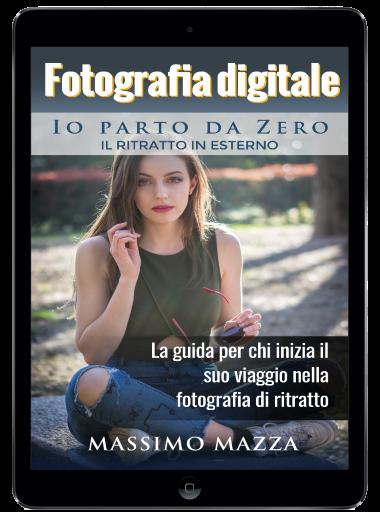 Libro ebook di fotografia di ritratto su Amazon Kindle